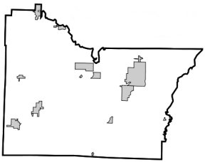 Towns of Lawrence County, Arkansas