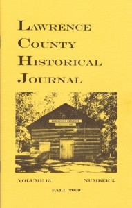 Lawrence County Historical Journal